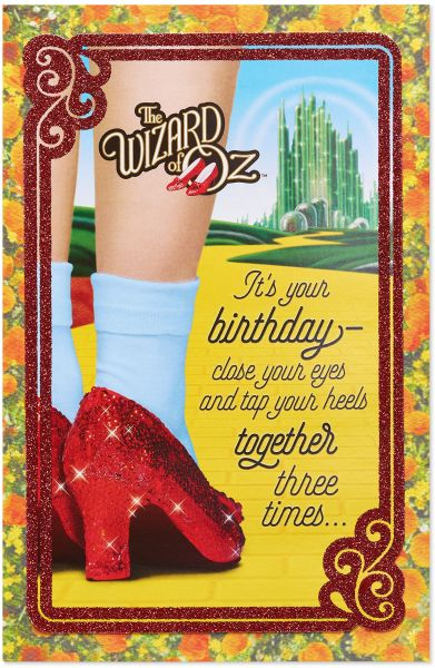 Souq American Greetings Funny The Wizard Of Oz Birthday Card With