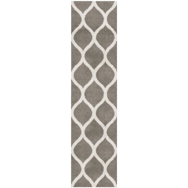 Runner Rug Maples Rugs Made In Usa Cie 2 6 X 10 Non Slip Hallway Entry Area For Living Room Bedroom And Kitchen Greystone