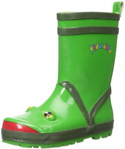 5a0641a0833a Kidorable Boy s Frog Rain Boot