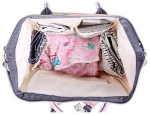 439da78cc321 Waterproof Diaper Bag Backpack Multi-Function Large Capacity Travel Backpack  Nappy Bags for Baby with Unicorn Cloud Star Patter