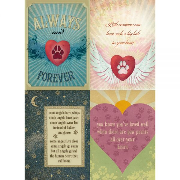 buy tree free greetings forever friends pet sympathy card assortment . 2a88a4f1eb0a3