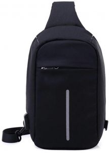 Anti Theft Design Travel Bag Small Size With USB Charging Port 10d77044c022d