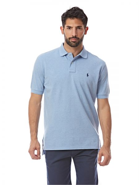 Polo Ralph Lauren Classic Fit Polo for Men - Blue   Souq - UAE 67b3f6816901