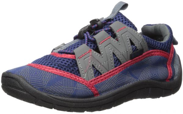 Northside Boys' Brille II Water Shoe, Navy/Red, Size 12 M US Toddler