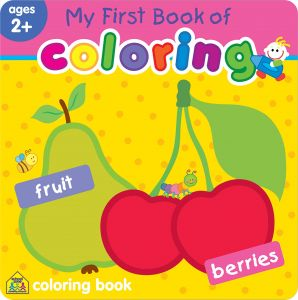 My First Book Of Coloring Fruit Berries