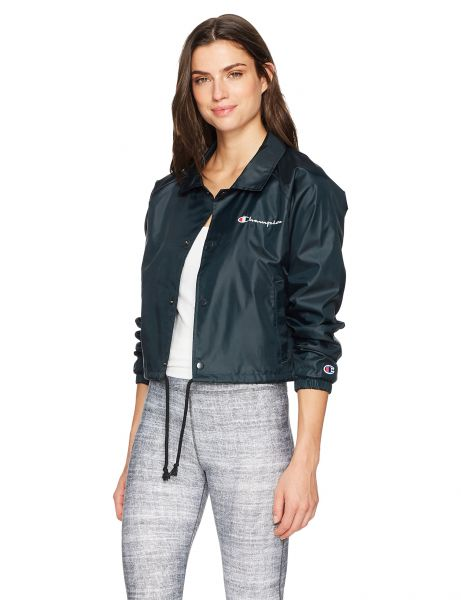 fb86d5d38cad Champion LIFE Women s Cropped Coaches Jacket