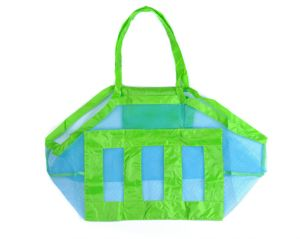 Portable Toys Baby Kids Mesh Beach Pouch Storage Bag Tote Sand Collect 1Pcs 22d10b528c59f