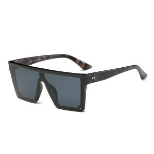 a982cc3aa DONNA Cool Unisex Oversized Flat Top Sunglasses Square Aviator Shades  D89(Gradient Black)