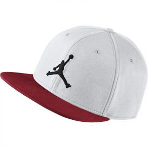 c93bc12a8a7e9 Nike Jordan Jumpman Snapback Hat for Unisex - White Gym Red