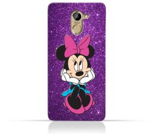 Infinix Hot 4 X557 TPU Silicone Case with Minnie Mouse Smile Design