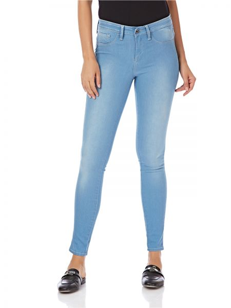 af5548d7e1a Tiffosi One Size Fits All Skinny Jeans for Women - Light Blue
