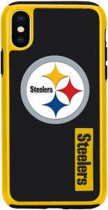 Forever Collectibles iPhone X Dual Hybrid Impact Licensed Case - NFL  Pittsburgh Steelers a0c698545