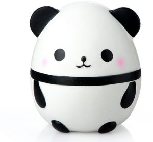 14CM Jumbo Fat Panda Egg Squishy Doll Phone Straps Car Decoration Slow Rising Kawaii Animal Kids Toys Soft Squeeze Fun Gift -xx