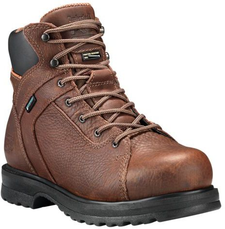 508f2b0acfca0 Timberland PRO Red Brown Lace Up Boot For Women
