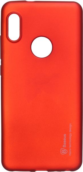 outlet store 142c8 3da75 Baseus Back Cover for Xiaomi Redmi Note 5 Pro, Red