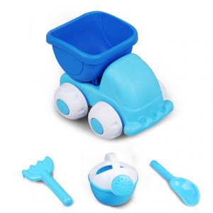 bb877b1bc19 4 PCS Beach sand Toy Set Toy Car Molds for Great Fun