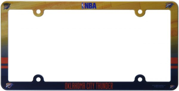 NBA License Plate with Full Color Frame white | Souq - UAE