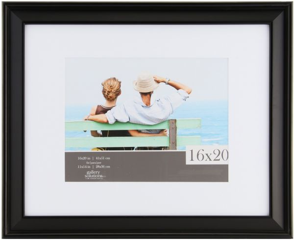 Souq | Gallery Solutions Ashwood Frame with Mat 16 inches x 20 ...
