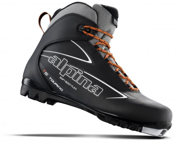 Buy Alpina Sports T Touring Cross Country Nordic Ski Boots Black - Alpina nordic boots