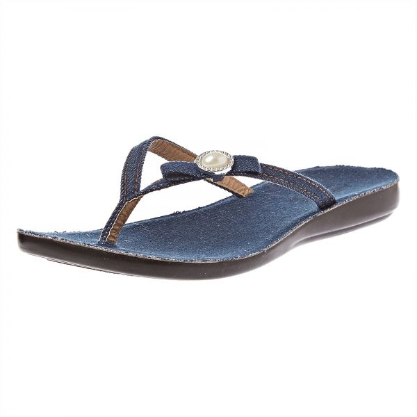 1a8d978f1504d Aipao Flip Flop Slippers for Women - Dark Blue | Souq - UAE