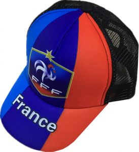 b6404668a6b Multi Color FIFA World Cup France Football Fans Sport Mesh Baseball Cap For  Unisex