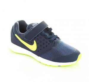 92f1845261ff Nike Downshifter 7 BPV Running Shoes For Boys - Navy Lime