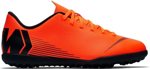 best website 79e61 a9ce7 Nike Jr Vaporx 12 Club Gs TF Football Shoes For Boys - Orange Black. by Nike,  Athletic Shoes - Be the first to rate this product
