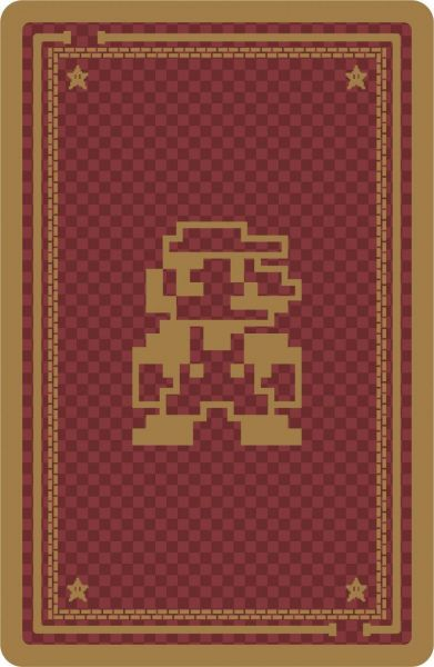 Nintendo-Super Mario Playing Cards Official Nintendo Product (Second 2 Edition: 8 Bit-Pixels Edition) by Nintendo