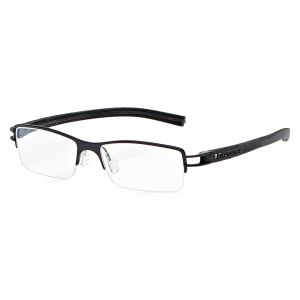 af85b858eb Tag Heuer Half Frame Glasses Frame for Unisex - Black   Grey