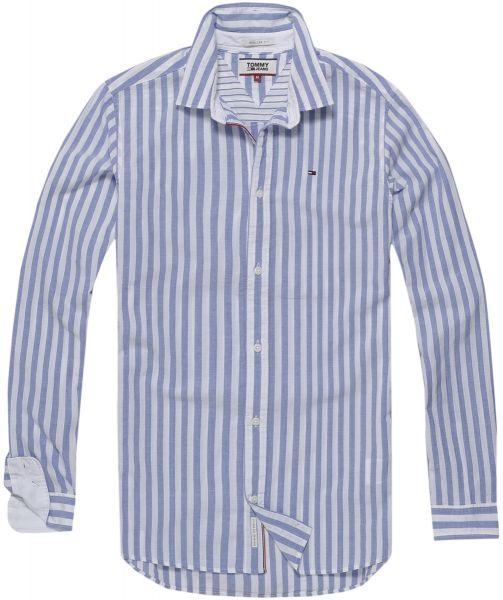 6e5a4ff67a46 Tommy Hilfiger Shirt for Men - Blue   White