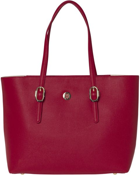 Tommy Hilfiger Tote Bag For Women Red