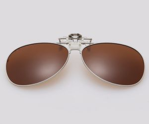 e54b090e4b0 Unisex Sunglasses Clip Men and Women Polarized Night Vision Lens Clips