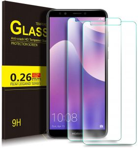 [2 Pack]Huawei Y7 Prime 2018 Strong Screen Protector 9H Hardness HD Tempered Glass