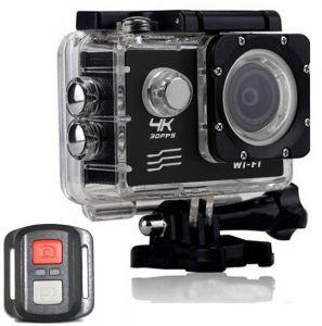 ivtrec Action Cameras 4K Resolution , 30x Optical Zoom and 2 Inch Screen Size Camcorder - F60R
