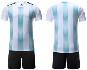 2af1641355543 2018 world cup Football Jersey Argentina Team Football suits Short-sleeved T -shirt - M L code