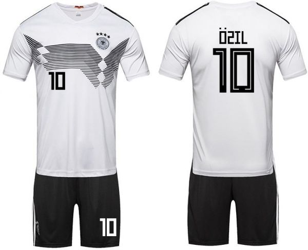 2018 World Cup Football Jersey Germany Team No 10 Ozil Suits Short Sleeved T Shirt M Code Souq Uae