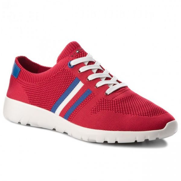77e37113411c23 Tommy Hilfiger Fashion Sneakers for Men - Red