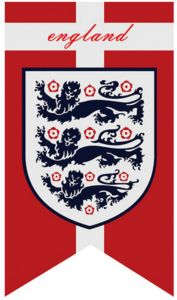56b8e00bf 70X125 CM 2018 FIFA Russia World Cup England Swallow Tail Hanging Flag Home  Decoration-ejv