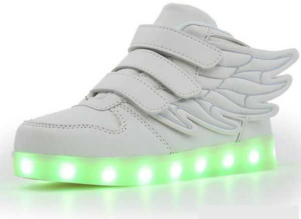 Led Color Shoes For Fashion Party Rechargable Fun Change Light b6vmfyI7Yg