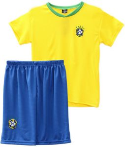 Football jerseys 2018 world cup Children Football Jersey Brazil Team  Football Sport suits - 3XL code e77683d7bed63