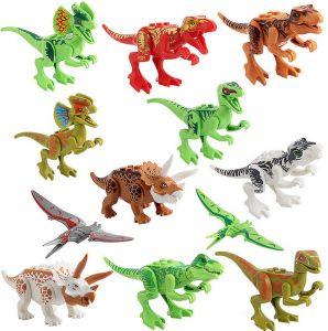 Lovely 5 Styles Dinasour Toy Beauty Girl Boy Toys Mini Movie Kid Toy Building Blocks Sets Model Toys Mini Figur Brick Gift Birthday Model Building Kits