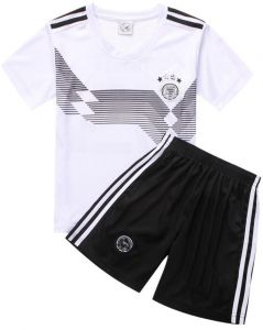 2018 FIFA World Cup Football Jersey Germany Team child Football suits Short-sleeved  T-shirt - L code 09f4ee9b4
