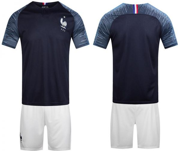 67433351471 2018 FIFA World Cup France Team Football Jersey suits Short-sleeved ...