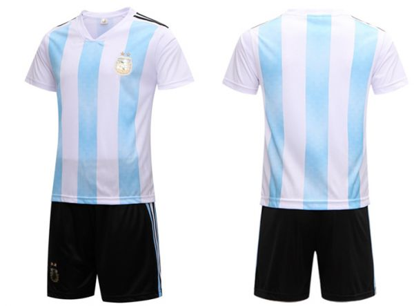 separation shoes 2a208 07e44 FIFA Russia World Cup 2018 Soccer Argentina Team Jersey short-sleeved  T-shirt XL code