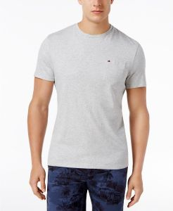 fe763cac5ea4 Buy tommy hilfiger navy cotton round neck t shirt for men 21989073 ...
