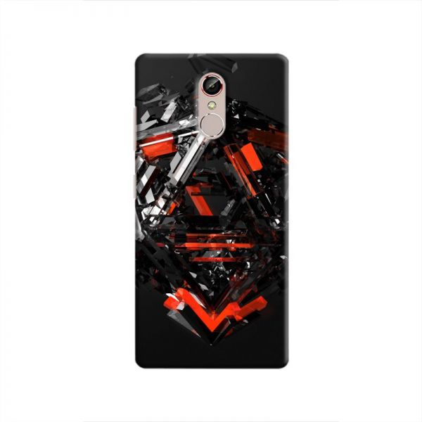 best service 6d0b6 4e69d Cover It Up - Triangle Dissolution Red Gionee S6s Hard Case   KSA   Souq