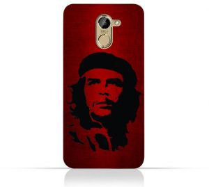 Infinix Hot 4 X557 TPU Silicone Case with Che Guevara Silhouette Pattern