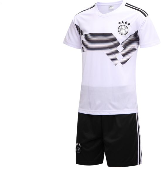 398656008 FIFA Russia World Cup 2018 Soccer Germany Team Jersey short-sleeved T-shirt  M code