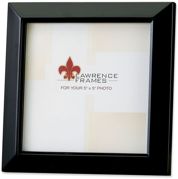 Lawrence Frames Estero Collection, Wood Picture Frame 4 by 6 Black ...