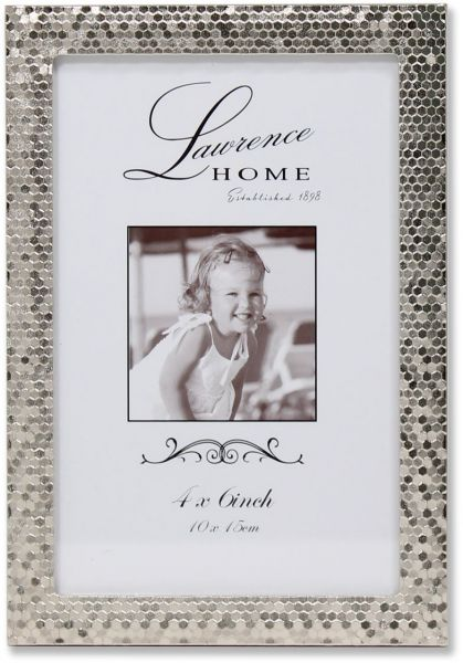 Souq | Lawrence Frames Shimmer Metal Picture Frame, 4 by 6-Inch ...